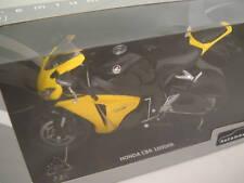 HONDA CBR 1000RR Motorrad-Modell gelb 1:12 NEU 1000 RR