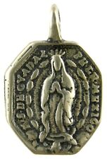 OUR LADY OF GUADALUPE / ST. BARBARA Medal, bronze from antique Italian original