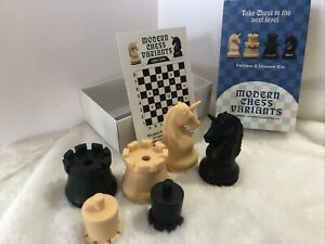 Fortress and Unicorn - Modern  Chess Variant Kit 4 Pieces By Frank Camaratta Jr