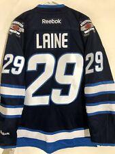 Reebok Premier NHL Jersey Winnipeg Jets Patrik Laine Navy sz S