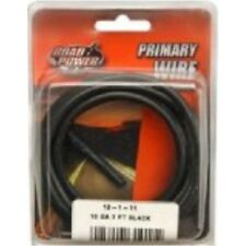 Coleman Cable 55671833 10 Gauge Automotive Copper Wire, Black, 7'