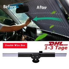 Auto Frontscheibe Sonnenschutz Rollo Saugnapf UV Sonnenblende Einziehbare DHL.