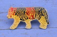 Pin's des années 1990, tigre