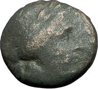 LARISSA Thessaly Ancient Greek Coin for THESSALIAN LEAGUE - APOLLO ATHENA i59749