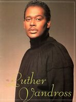 LUTHER VANDROSS 1990 BEST OF LOVE TOUR CONCERT PROGRAM BOOK BOOKLET / NMT 2 MINT