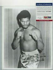 Leon Spinks Professional Boxing Champion Autographed 8x10 Photo PSA COA