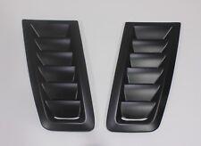Bonnet Vent Hood Vent FOCUS RS MK2 Style ABS Plastic Universal Ford Matte Black