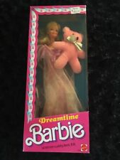 Barbie Doll Dreamtime with Bear 1984 Mattel