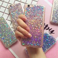 Luxury Bling Glitter Soft Shockproof Silicone Case Cover For HUAWEI P9 P10 Plus