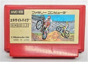 Genuine Excitebike Video Game for Nintendo Famicom JAPANESE TESTED