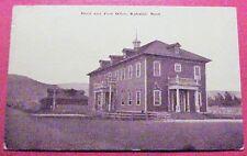 1913 Baldwin National Bank & Post Office Kahului Maui TH Hawaii Baker K359