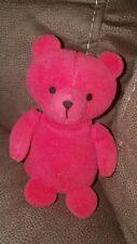 "Vintage red Bear Plush--Russ Berrie -Mini Stuffed 4"" -4851 Korea CUTE"