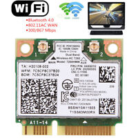 For Intel Dual Band 7260HMW Wireless LAN WiFi Bluetooth 4.0 Card 802.11abgn+ac