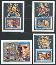 Movie Stars -   MNH Souvenier Sheets - From Guinee & Tchad.........#0074-1
