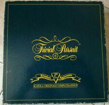 TRIVIAL PURSUIT GENUS EDITION 2° edizione riveduta e aggiornata 1989