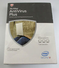 McAfee AntiVirus Plus Retail 3PC-1YR Protection Full Version Updates to Current