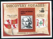 465695) Antigua und Barbuda Block 202 **, Entdeckungsreisen, Columbus