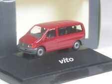 TOP: Herpa Sondermodell Mercedes Benz Vito Kombi rot in PC-OVP