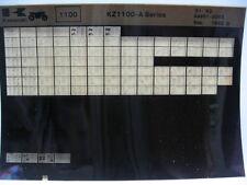 Kawasaki KZ1100 1981 - 1983 Parts Microfiche NOS k462