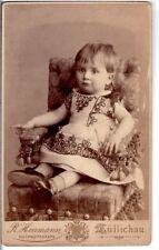 CDV Foto Niedliches kleines Kind - Züllichau Sulechów um 1890