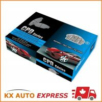 Disc Brake Pad Set-Taff Ceramic Brake Pad Rear Set CPD1275