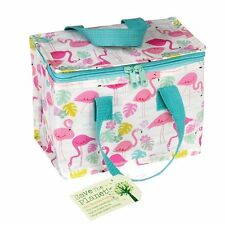 REX London Flamingo Bay plastique recyclé Isolé Cool Chaud sac à Lunch