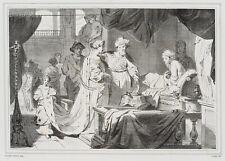 JOURDY(19.Jhd) nach G.Lairesse, Krönung einer Prinzessin, Lithographie