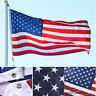 3x5' American Banner USA Flag United States Sewn Stripes Stars Brass Grommets yu
