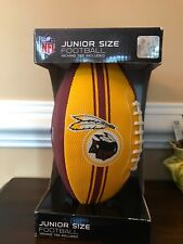 Nfl Redskin Junior Size Football Yellow Red New Gift