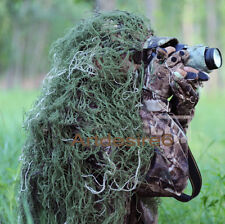 3D camouflage hunting Blind Materials Sniper camo net Head hat cloak 80x90cm