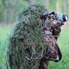 3D camouflage hunting Blind Materials Sniper camo net Head hat cloak 80x90cm