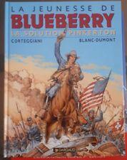 La Jeunesse de Blueberry 10 La solution Pinkerton EO + Ex Libris serigraphie