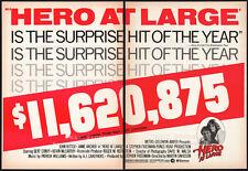 HERO AT LARGE__Original 1980 Trade print AD / poster__JOHN RITTER__BERT CONVY