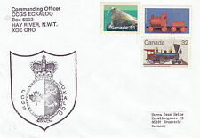 CANADIAN COAST GUARD LIGHTHOUSE SHIP CCGS ECKALOO A SHIPS CACHED COVER