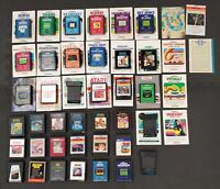 Atari 2600 Game Lot - 38 Games & 25 Manuals - Stargate Star Wars & More - Works!