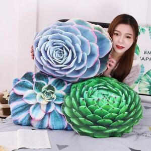 50cm Soft Simulated Succulent Plants Cactus Plush Stuffed Pillow Sofa Cushion