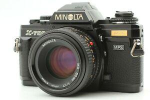 【Near Mint】 Minolta X-700 SLR Film Camera w/ MD Minolta 50mm f/1.7 From Japan
