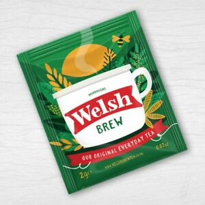 Welsh BrewTea Bags 50 Individually Wrapped BB Sept 2023 Sachets / Envelopes
