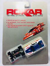 "6-PACK LIFE-LIKE ROKAR WHITE 8.5/"" HO SLOT CAR GUARD RAILS"