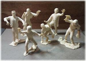 Universal Monsters Marx: Creature Frankenstein Mummy Phantom Wolfman Hunchback