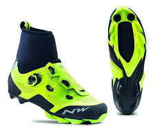 NorthWave Raptor GTX - MTB Winter Boots - Fluo Yellow