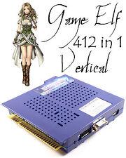Game Elf 412 In 1 Vertikal Multi Arcade Spiel JAMMA Platte CGA/VGA Ausgabe MAME