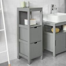 SoBuy® Standing Floor Bathroom Storage Cabinet Unit with Drawers,FRG127-SG,UK