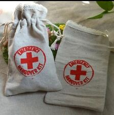 2x Emergency Hangover Kit Wedding Favour Hen Do Kit Stag Do Gift Party 18th 21st