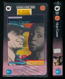 Warner Betamax NOT VHS Skin Game 1971 James Garner Comedy Western Cult Slavery