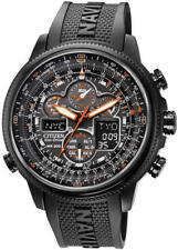Men's Citizen Eco-Drive Navihawk A-T Atomic Chronograph Watch JY8035-04E