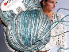 750 g OPULENZ smc select Schachenmayr WOLLE Hellblau Color + zart Lurex Merino