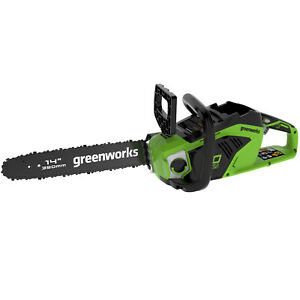 Greenworks GD40CS15 Cordless 40v Chainsaw 35cm/14in Bare Unit