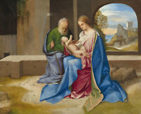 PAINTING DE COTER THE MOURNING OF MARY MAGDALENE POSTER WALL ART PRINT LLF0222