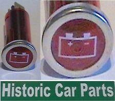 Batería Inferior - Arranque no carga - Luz De Advertencia Rojo Pantalla 1960-80s